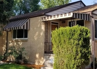 Bank Foreclosure for sale in Denver 80207 POPLAR ST - Property ID: 4345393776