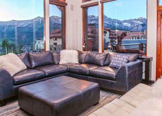 Pre Foreclosure in Telluride 81435 MOUNTAIN VILLAGE BLVD - Property ID: 1343091215