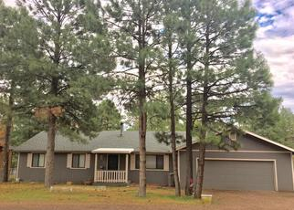 Pre Foreclosure in Overgaard 85933 PINE CONE DR - Property ID: 1380563394