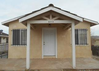 Pre Foreclosure in Barstow 92311 E FREDRICKS ST - Property ID: 1380578736