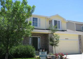 Pre Foreclosure in Arvada 80007 QUAKER CT - Property ID: 1380771883