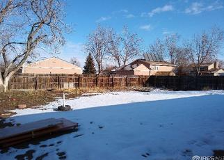 Pre Foreclosure in Platteville 80651 OLIVE LN - Property ID: 1435453811