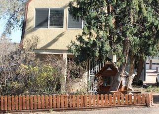 Pre Foreclosure in Manitou Springs 80829 PAWNEE AVE - Property ID: 930928342